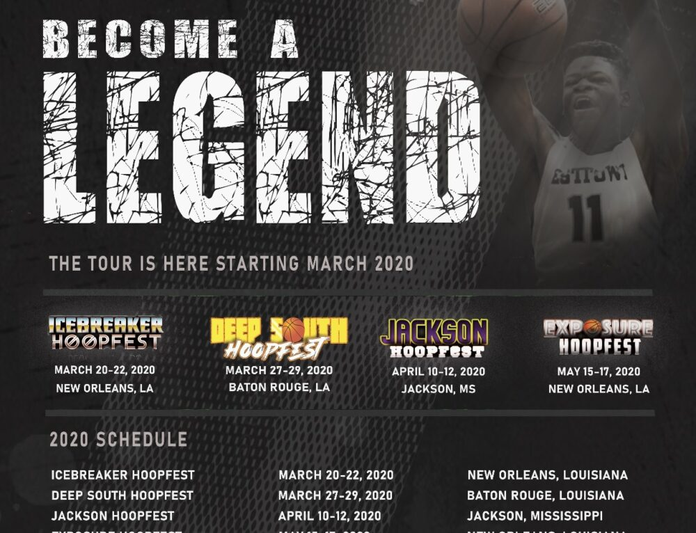The HoopFest Tour! Our 2020 Tournament Schedule