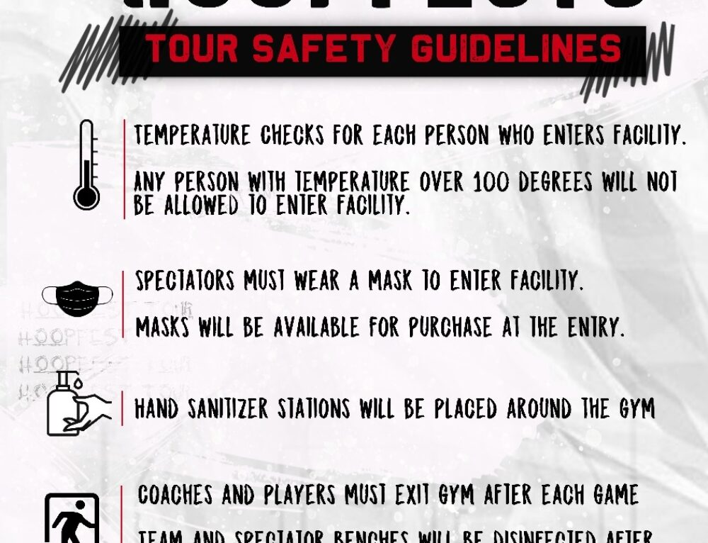 The Tour Basketball Safety Guidelines